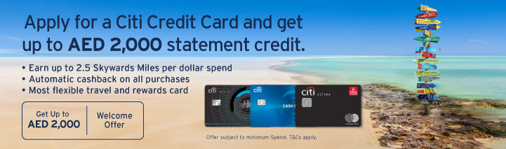 Apply for a Citi Credit Card and enjoy a 12-month amazon prime membership on us!