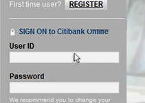 Registering for Citibank Online
